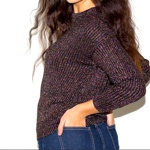 American Apparel Metallic Knit Sweater